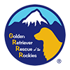 Graphic Design For Golden Retriever Rescue of The Rockies