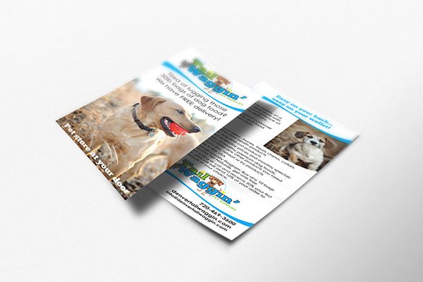 Tail Waggin Flyer Design